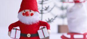 サンタがプレゼント